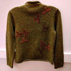 Hasper & Company green sweater